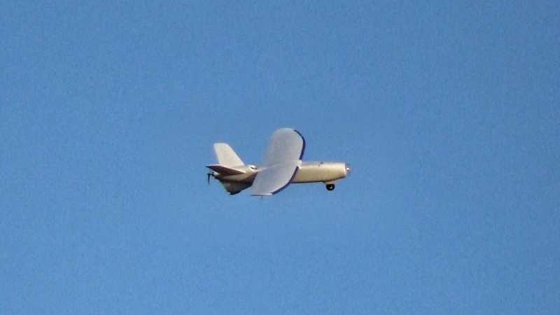 Drona FAE 1718 Fixed Wing - REBEL