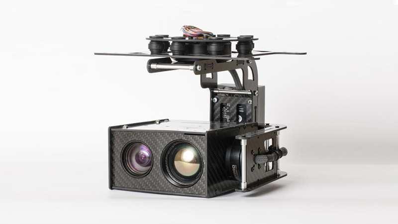USG-302 Gimbal Multi Senzor stabilizat