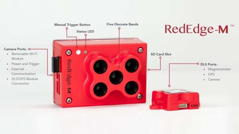 RedEdge-M - professional multispectral  sensor