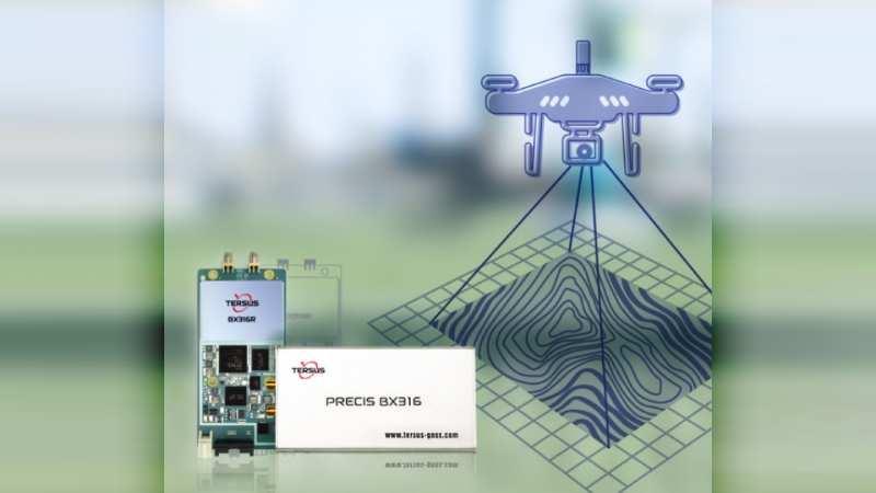 Tersus UAV PPK fotogrametry solution